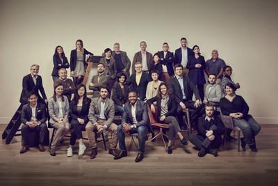 27 Chivas Venture Finalists, 2018 (image by Chivas Regal) (PRNewsfoto/The Chivas Venture)