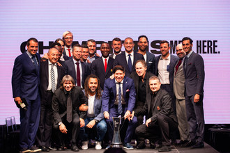 Soccer legends gathered in Miami today to announce the official  2018 International Champions Cup presented by Heinekin. Matches will be scheduled between July 20 and August 12, featuring many of the world's top players.