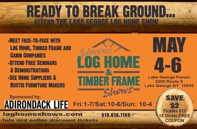 Johnson's Log Home & Timber Frame Shows