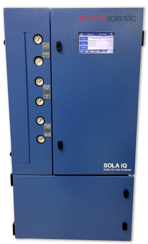 The Thermo Scientific SOLA iQ online sulfur analyzer
