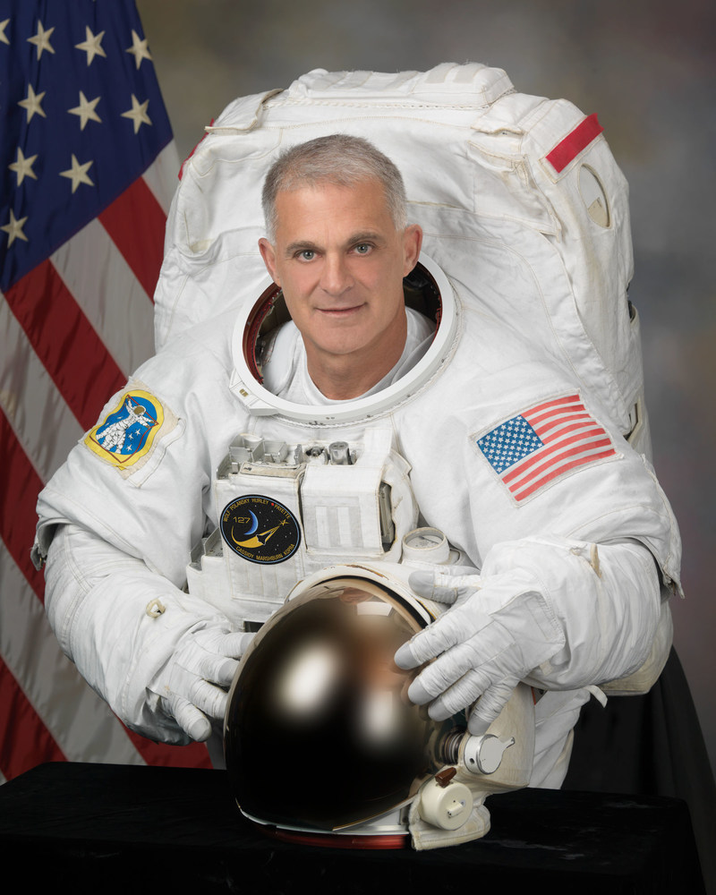 Astronaut David Wolf, MD EE, is a medical doctor, electrical engineer, military officer (LTC Ret USAF ANG), and former NASA astronaut (168 days, four missions, and seven spacewalks).