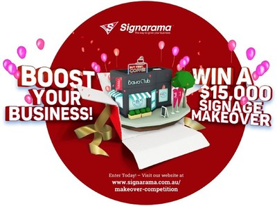 Australian shops, restaurants, factories, offices and more now have the opportunity to win a signage makeover from premium brand and leading full-service sign innovator, Signarama.