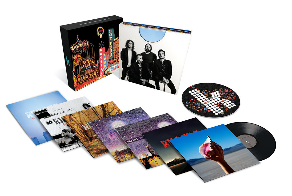 THE KILLERS PROCLAIM A WONDERFUL WONDERFUL LIFE WITH CAREER-SPANNING SEVEN-ALBUM 180-GRAM VINYL COLLECTION Noted Rockers From Las Vegas Take a Look on the Brightside of Their Stunningly Successful Career with Massive Box Set Via Island/UMe on June 15