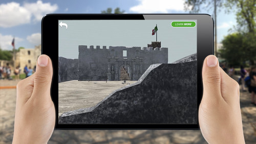 A ground-breaking, augmented reality app called Alamo Reality is transporting users to The Battle of the Alamo in 1836. It utilizes superimposed computer-generated photoreal animations to recreate one of the world's most famous battle sites through an unparalleled union of historical scholarship and augmented reality. The experience begins @AlamoReality and at AlamoReality.com.