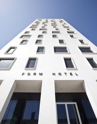 FORM Hotel Dubai, Front Facade Elevation (PRNewsfoto/FORM Hotel)