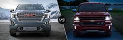 The all-new 2019 GMC Sierra beats the 2018 Chevy Silverado in a comparison.
