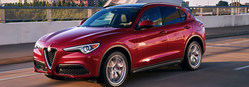 The 2018 Alfa Romeo Stelvio is available now at Palmen Fiat.