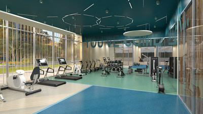 1235 Marlborough - fitness room. (CNW Group/The Minto Group)