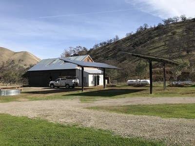 A combination of solar power, SimpliPhi batteries and an OutBack microgrid is now powering Governor Jerry Brown's new home at his ranch