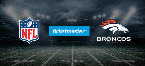 Denver Broncos Renew Partnership with Ticketmaster, Move Exclusively to Digital Ticketing for the 2018 Season