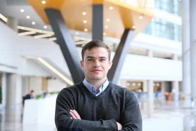 Adrian de Riz is seizing opportunities by completing a masters degree in business analytics at Xi'an Jiaotong-Liverpool University in Suzhou, China.