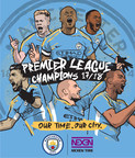 O Manchester City, parceiro da Nexen Tire, é o campeão da Primeira Liga Inglesa de 2017/18