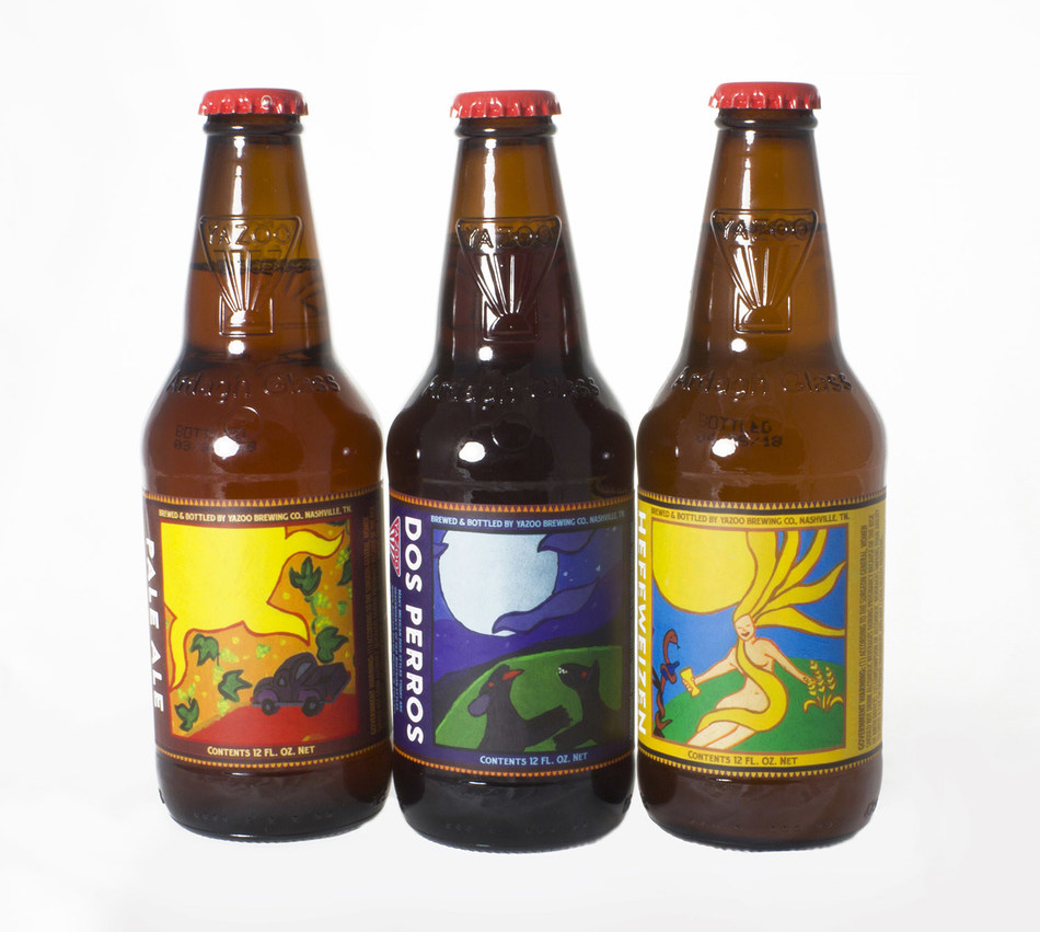 Yazoo Brewing Bottles for CBC
