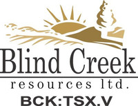Blind Creek Resources Ltd. (TSX-V: BCK) reports the Company has received a metallurgical testing report from BV Minerals - Metallurgical Division for the Company's potentially open pit Blende Zinc-Lead-Silver Project, situated 64 kilometres northeast of Keno Hill, Yukon, Canada. (CNW Group/Blind Creek Resources Ltd.)