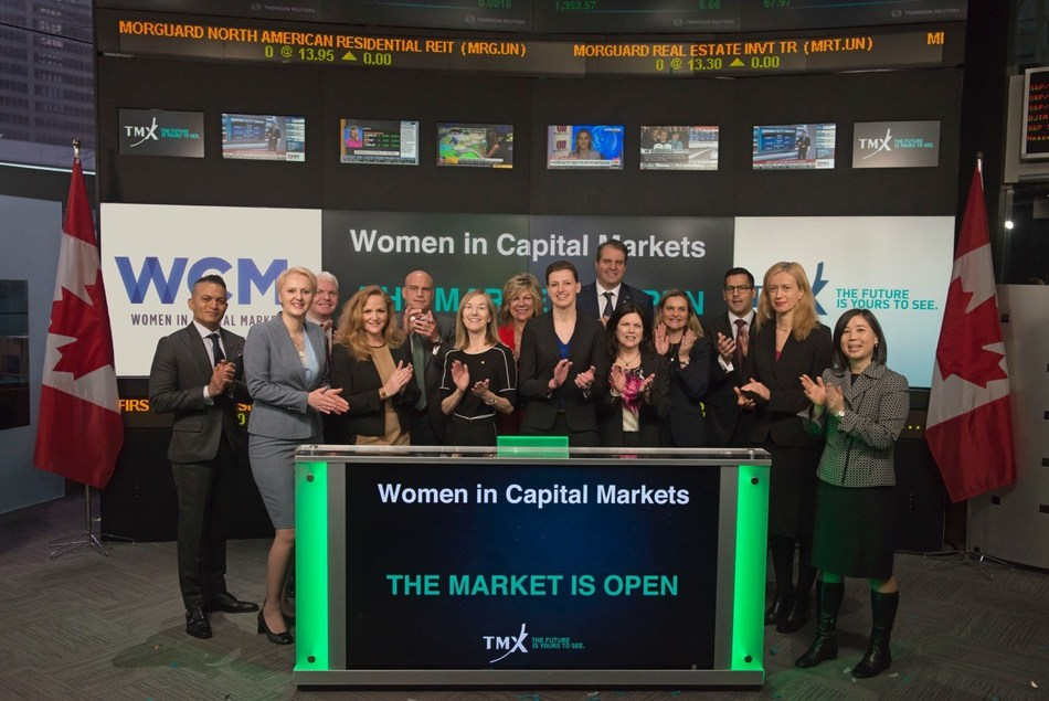 Women in Capital Markets Opens the Market (CNW Group/TMX Group Limited)
