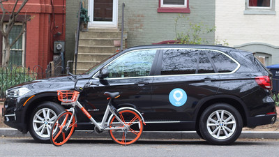 Via and Mobike team up to offer industry-first rideshare and bikeshare bundle.