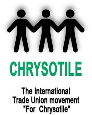 International Alliance of Trade Union Organizations Chrysotile Logo