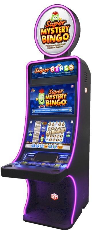 Gaming Arts Super Bingo Video Slots on the Phocus Slant cabinet.