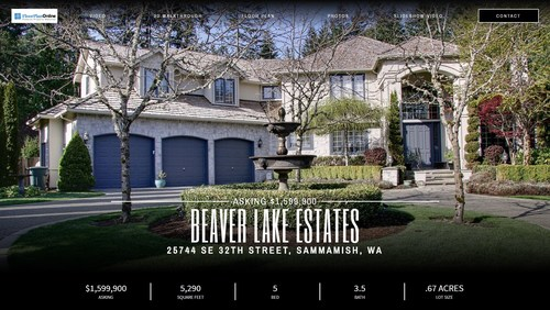 A single property website that incorporates amazing content to sell the home and hand-offs to the new buyer to manage their home.