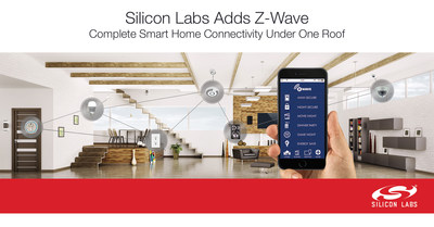 Silicon Labs completes acquisition of Sigma Designs' Z-Wave business.