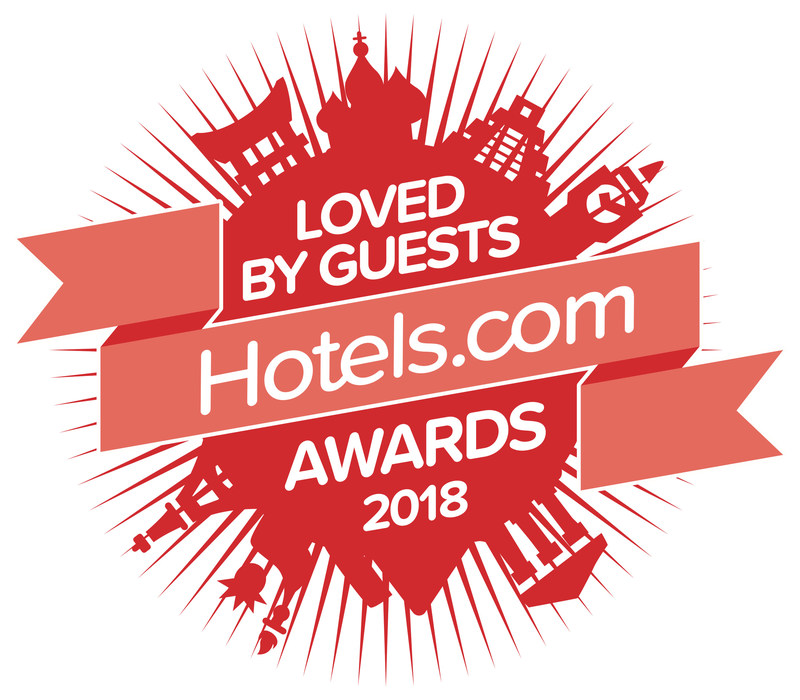 Loved by Guests Hotels.com Awards 2018 (CNW Group/Hotels.com)