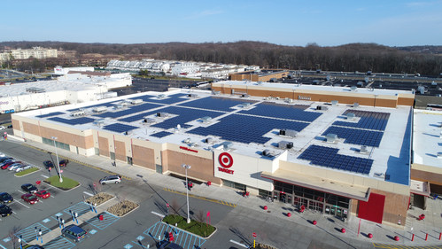 Target added more than 40 megawatts of solar in 2017, earning the company the No.1 spot in SEIA's Solar Means Business report.