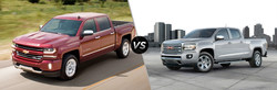 2018 Chevy Silverado 1500 vs 2018 GMC Canyon Comparison