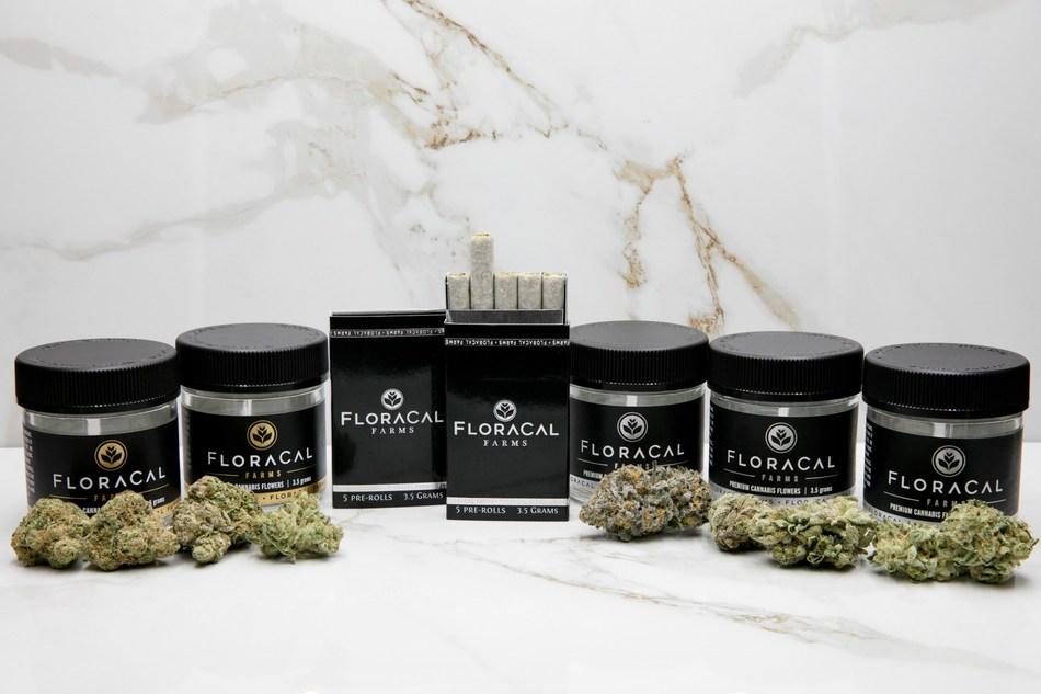 FloraCal (R)Farms, an Ultra-Premium Craft Cannabis (CNW Group/CannaRoyalty Corp.)
