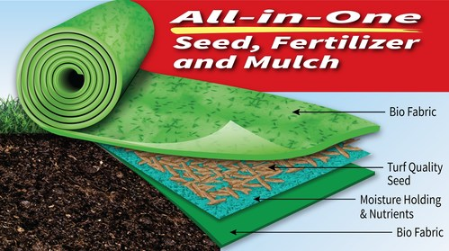 New Lawn Seed Product – Grotrax Patch N' Repair - Helps Grow Thick Grass Fast