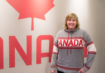 "One can change limits: ""When my brother had his leg amputated, he focused on what he can do. And with help from the Canadian Paralympic Committee he's won 2 medals at the Paralympic Games,"" Gaylynne Bergen, One for Change champion, Banking Centre Leader, Winnipeg, CIBC (CNW Group/CIBC)"