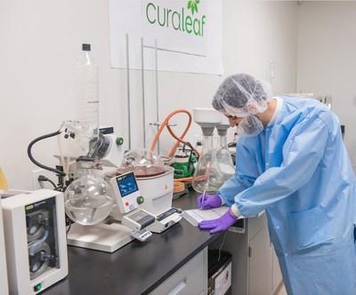 Medical Marijuana Processing Area at Curaleaf Headquarters