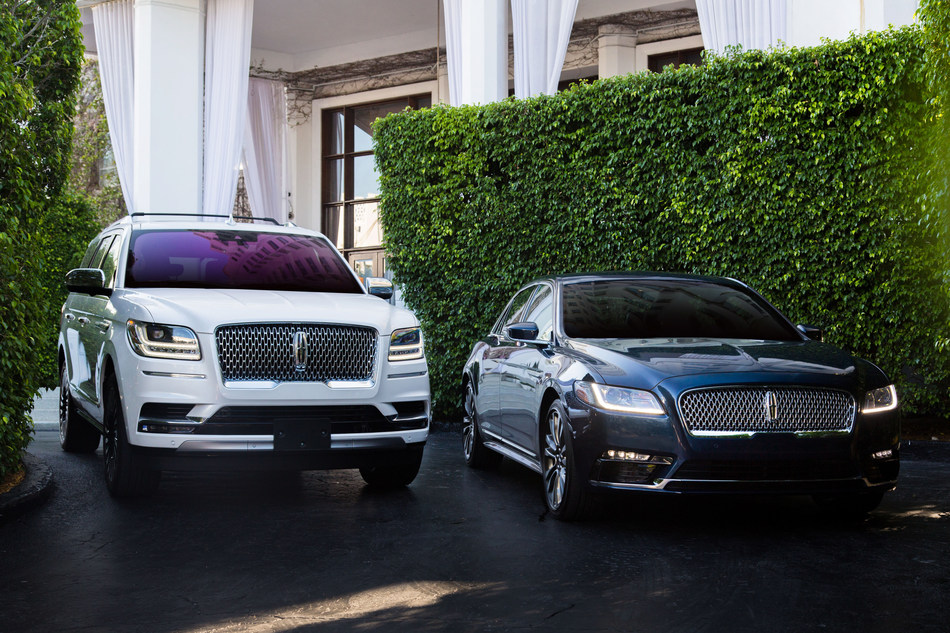 The Lincoln Motor Company Now Official US Luxury Vehicle of sbe's Iconic Lifestyle Hotels. (Featured: Lincoln Black Label Navigator and Continental at sbe's Delano South Beach)
