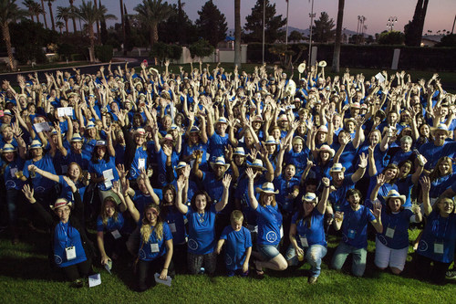 LiveRez and its family of vacation rental manager partners celebrate at the 2017 Partner Conference in Phoenix. This year, for the company's 10th anniversary, the conference is coming back to LiveRez's home town of Boise, ID and will run Oct. 1-3, 2018.