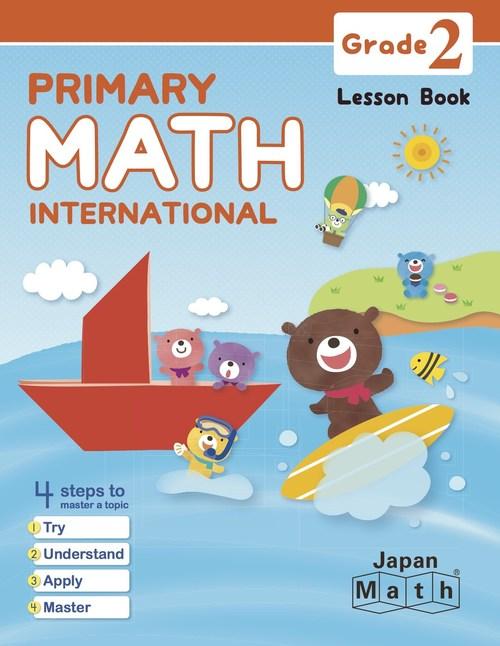 New Primary Math International Grade 2 Lesson Book