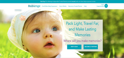 Babierge rents, delivers and sets up baby gear at a family's hotel, vacation rental or private home. It's also easy to join the Babierge platform, receive training and launch a local baby gear rental business.
