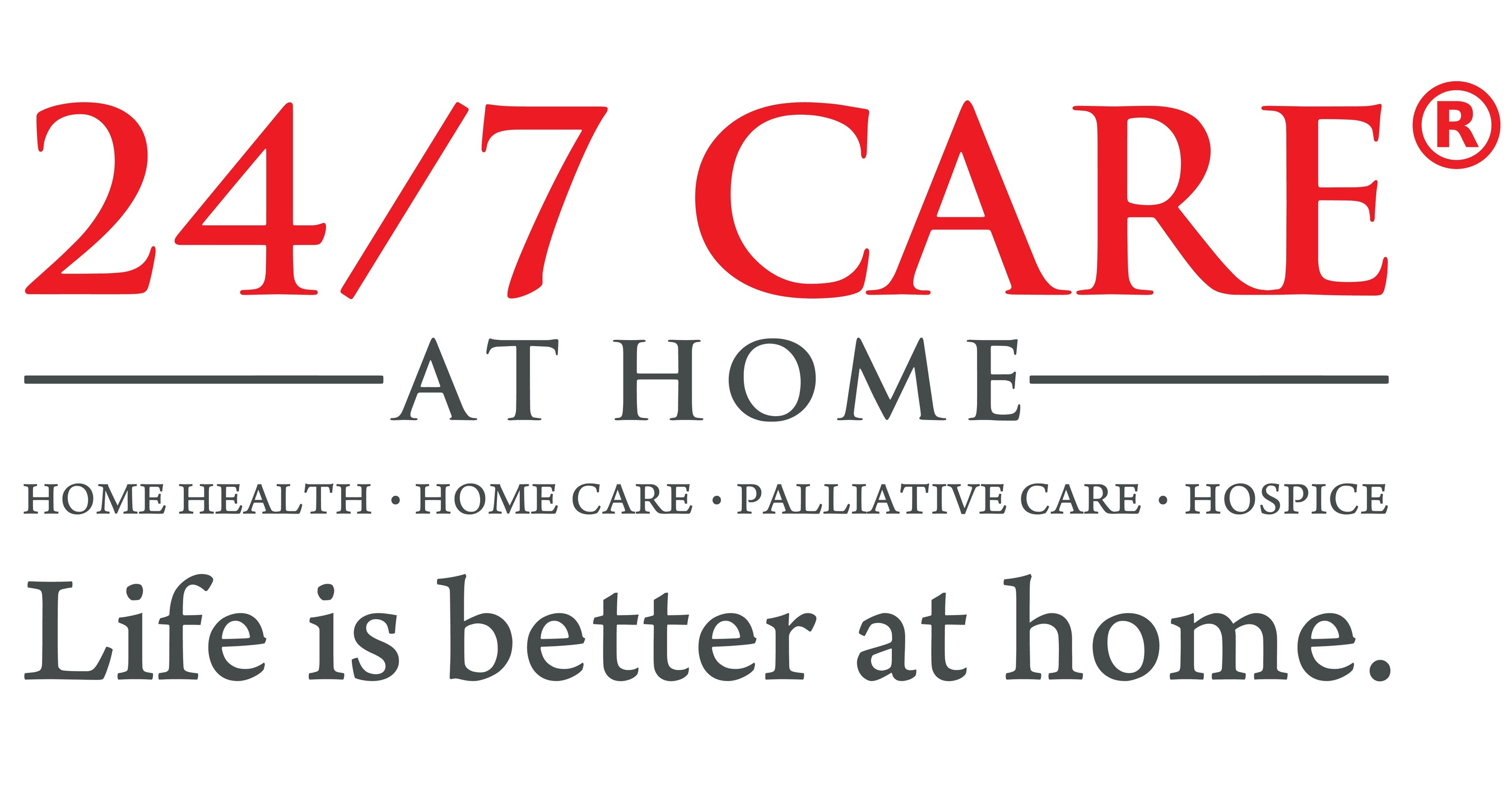 24 7 care at home logo