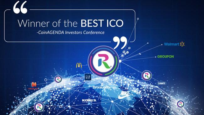 rewardstoken.io - Winner of CoinAgenda