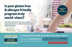 Gluten Free & Allergen Friendly College Food Service Conference