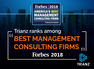 Trianz ranks among Forbes 'America's Best Management Consulting  Firms 2018' (PRNewsfoto/Trianz)