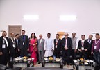 Key dignitaries at the inauguration of KJGF 2018. (PRNewsfoto/UBM India Pvt. Ltd.)