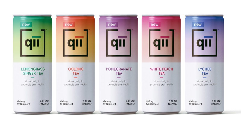 qii, first drink for oral care that reduces up to 52% of dental plaque