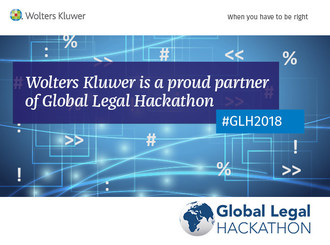 Wolters Kluwer Legal & Regulatory and Global Legal Hackathon: Partners in Advancing LegalTech Innovation