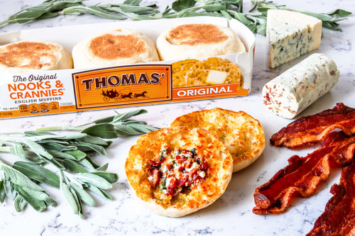 Thomas'® has given butter an extreme makeover in honor of National English Muffin Day on Monday, April 23.