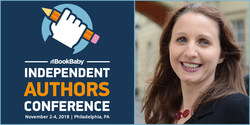 Joanna Penn will give the keynote address at BookBaby's 2018 Independent Authors Conference in Philadelphia this November.