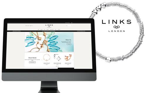 Two new Links of London e-shops by QIVOS (PRNewsfoto/QIVOS)