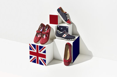 Hotter is celebrating the Royal Wedding with a collection of limited edition shoes that are the ultimate marriage of style and fit.