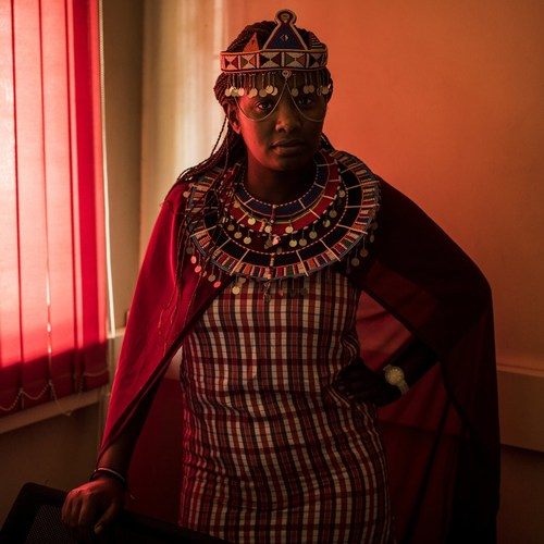 Nice Nailantei Leng'ete, Project Officer with Amref Health Africa, has been named to the TIME 100 for her work to end Female Genital Mutilation (FGM) (CNW Group/AMREF Canada (African Medical and Research Foundation))