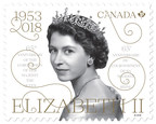 Queen 65th Coronation Anniversary Stamp (CNW Group/Canada Post)