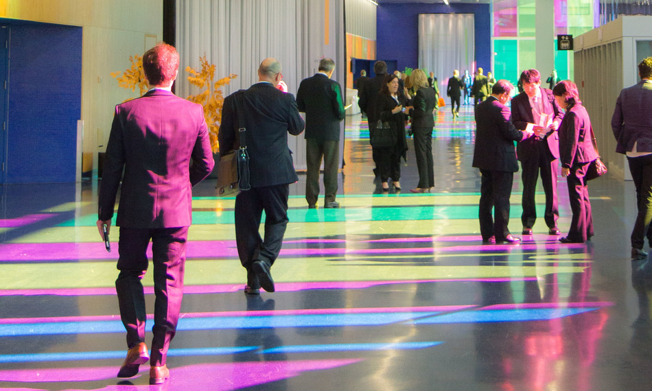 Les interactions entre l''humain et la machine seront scrutées à la loupe dans le cadre de l''International Conference on Human Factors in Computing Systems –- CHI 2018 au Palais des congrès de Montréal. (Groupe CNW/Palais des congrès de Montréal)