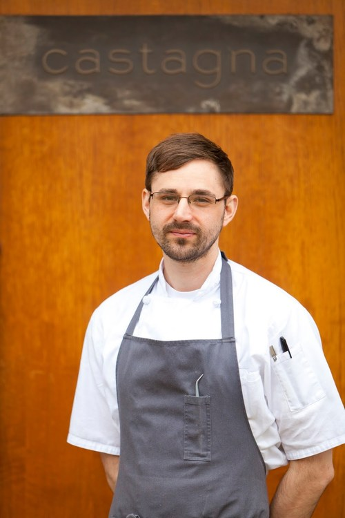 Justin Woodward, executive chef of Castagna in Portland, Ore., has been named a 2018 James Beard Award nominee.